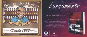 Lançamento do livro Boteco do Moraes